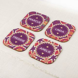 Print pattern family names personalise your own