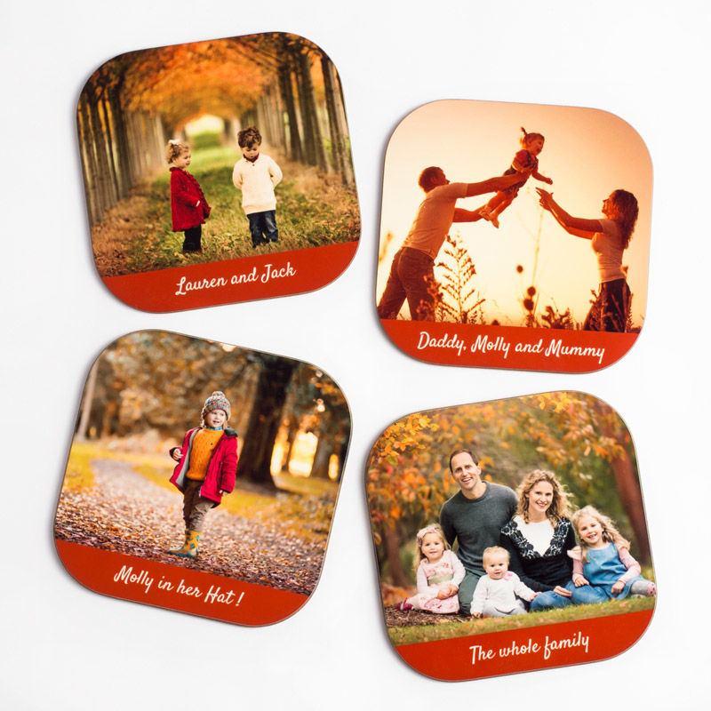 Personalised Beer Coasters Custom Printed Bar Coasters