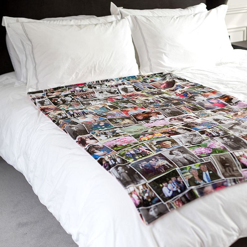 Custom-photo-blanket-bed-home-ware