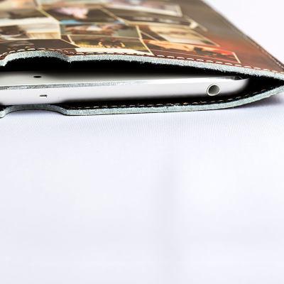 Étui en cuir personnalisé pour iPad