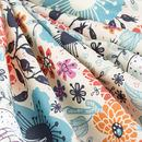 print Cotton Satin fabric swatch