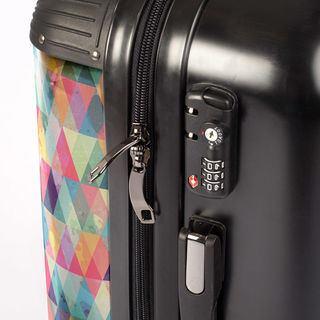 photo suitcase TSA lock details