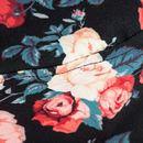 cappello pescatore rose fiori