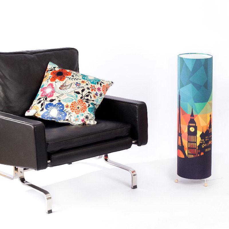 fotolampe selbst gestalten lampe designen mit fotos text. Black Bedroom Furniture Sets. Home Design Ideas