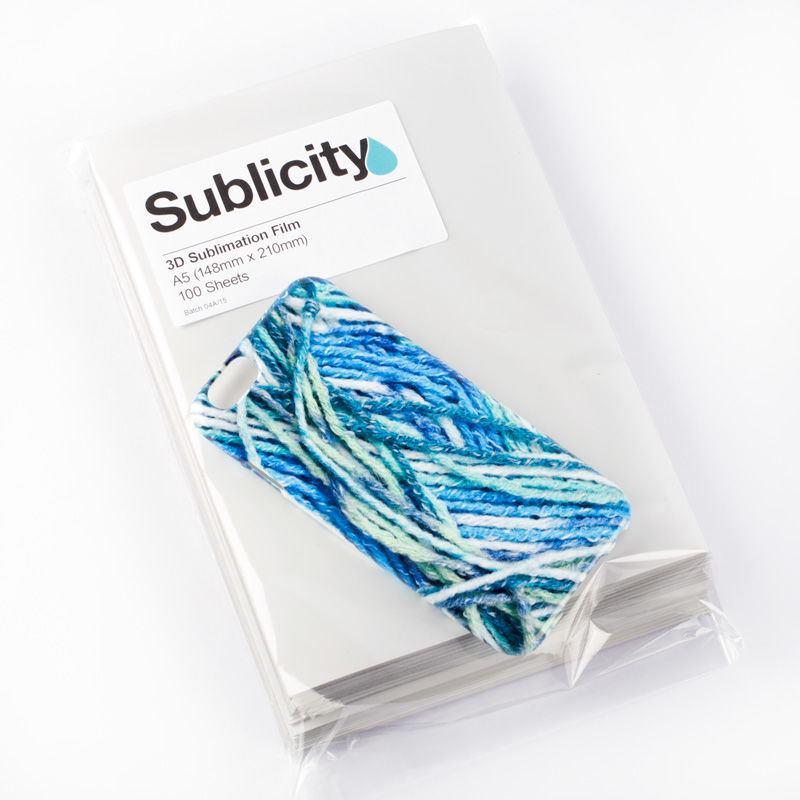 A5 Sublimation film vacuum print wholesale