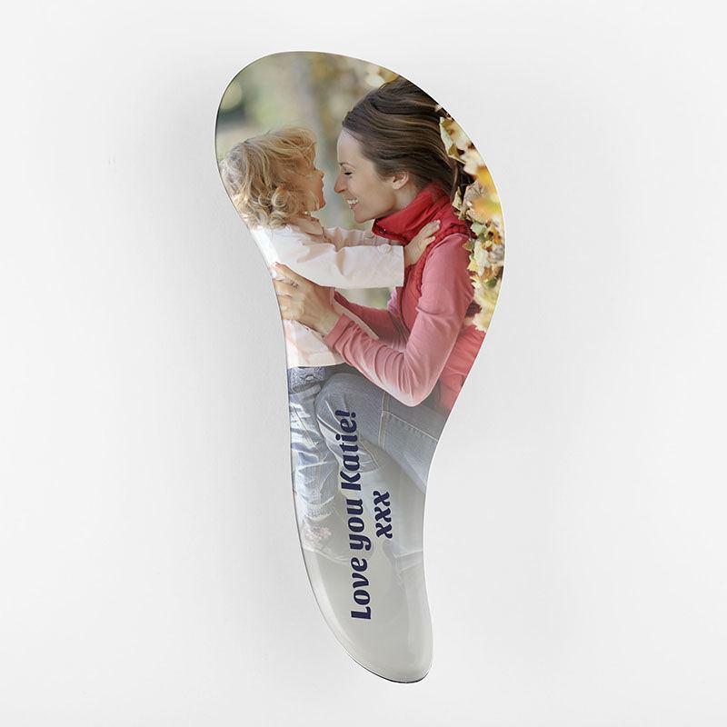 spazzola capelli personalizzata con stampa foto