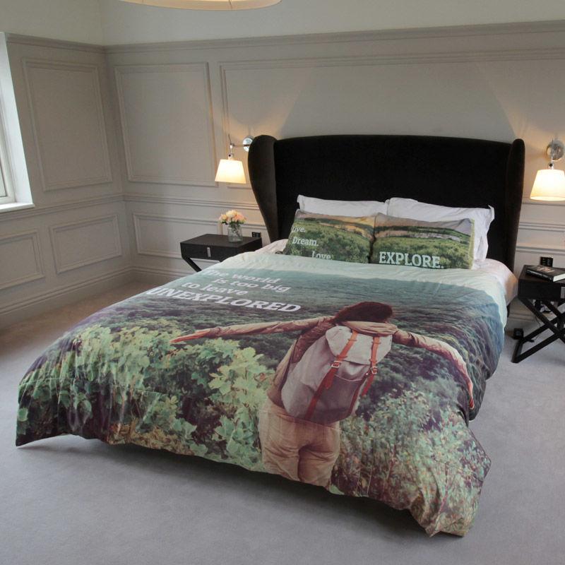 Bettwäsche bedrucken | Bettwäsche mit eigenem Design