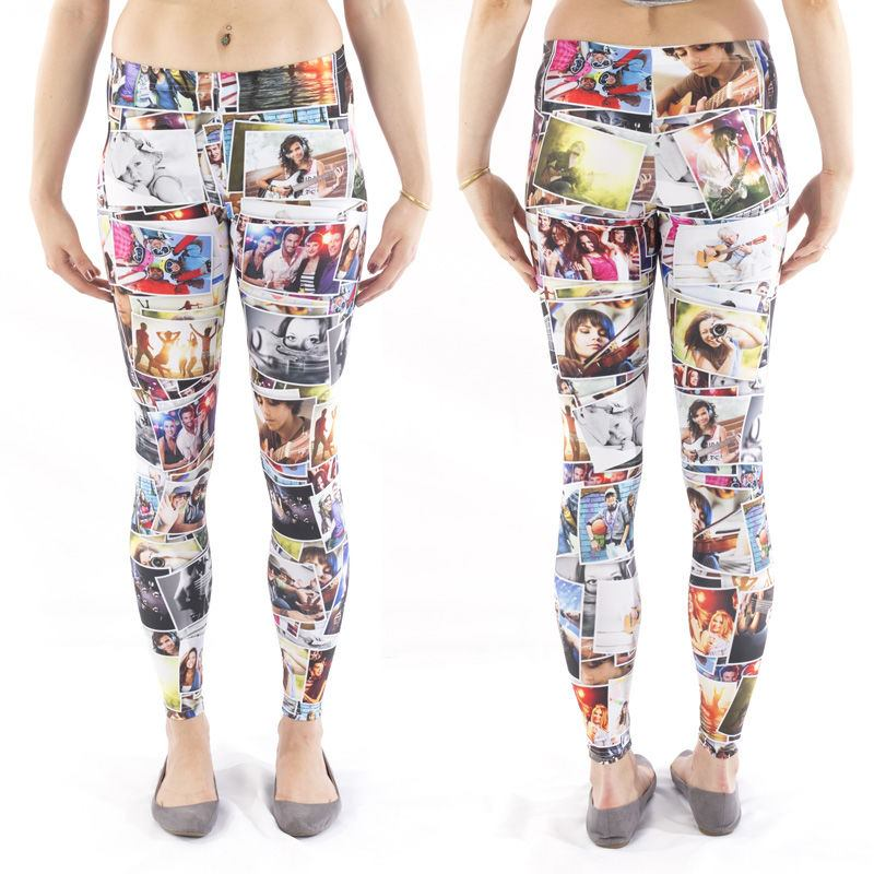 Custom Printed Leggings UK. Design Your Own Leggings