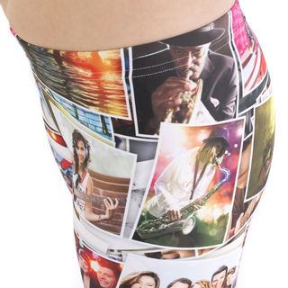 leggings personalizzati stampa foto collage