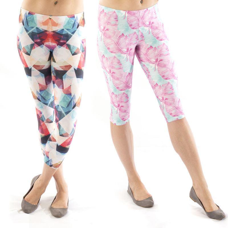 Leggings selbst bedrucken lassen. Leggings sind ein ganz besonderes Statement - Kleidungsstück. Es gibt so viele verschiedene Arten: einfarbige, Leggings mit Mustern, im Ethno-Look oder einfach Leggings aus ausgefallenen Stoffe.