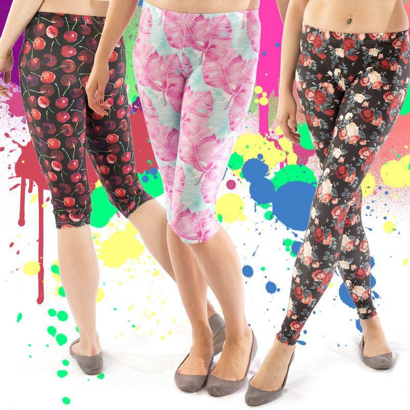 printed leggings you design