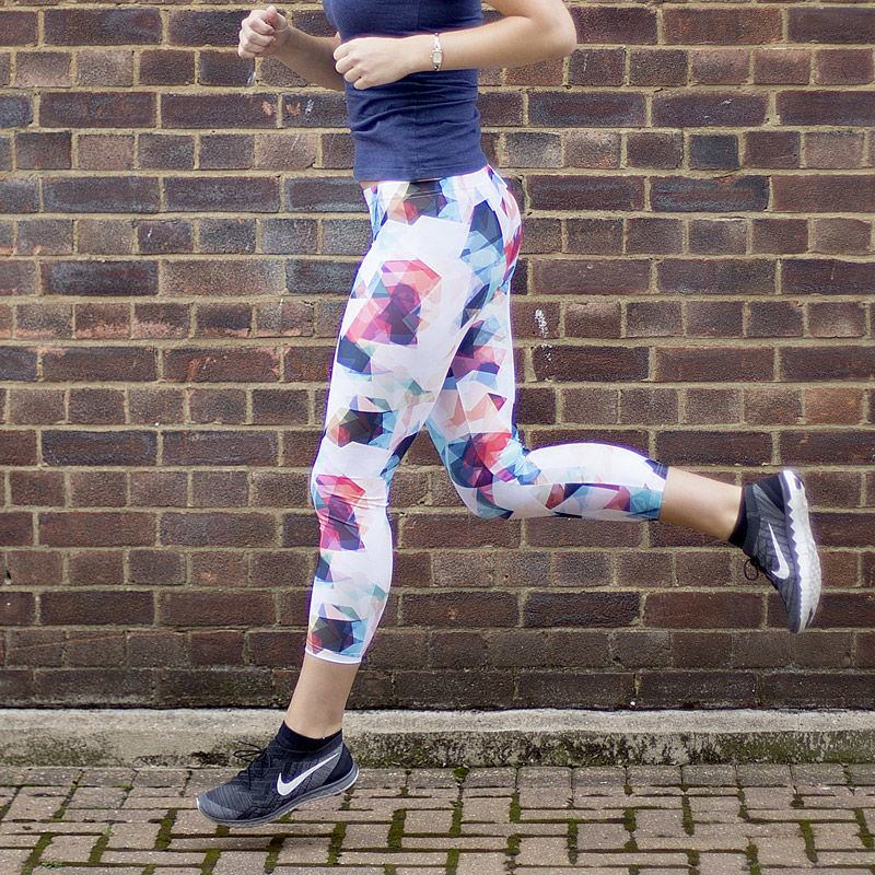 design your own cropped leggings
