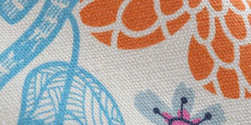 print detail organic cotton canvas
