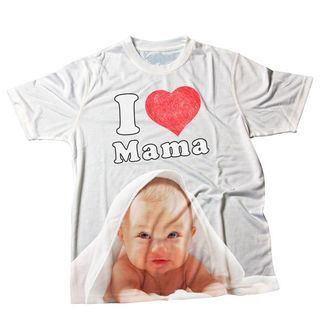 magliette personalizzate bambini i love mamma