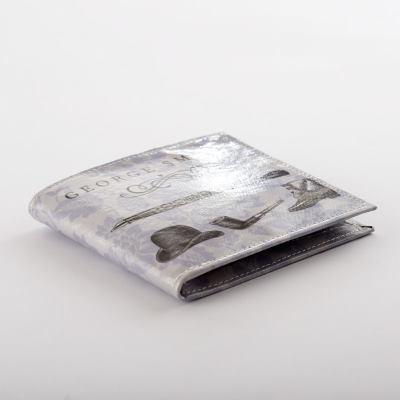 Herr plånböcker med tryck