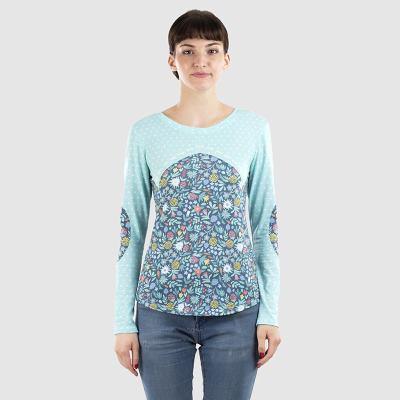 maglietta maniche lunghe da donna