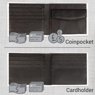 Mens wallet inner options