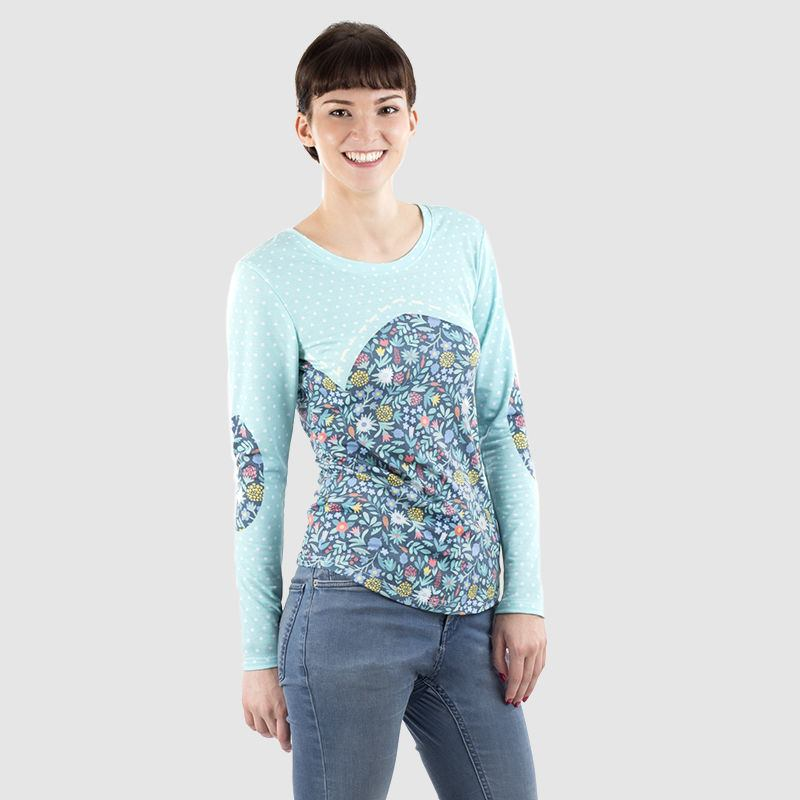 Women's Longsleeve Tee Style it with Holding image