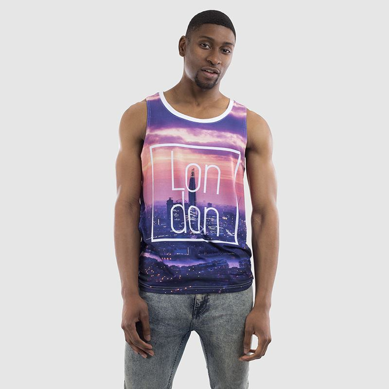 Personalised Mens Cut and Sew Vest
