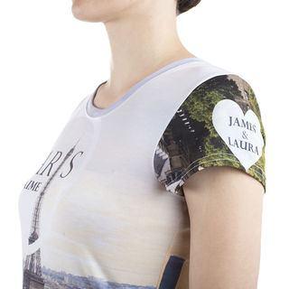 Tee shirt ajusté femme personnalisable