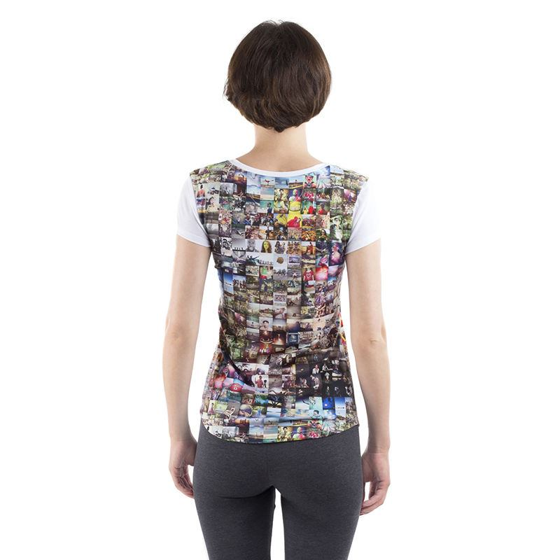 Ladies Personalised Cut And Sew T Shirt Create Your Own Tee