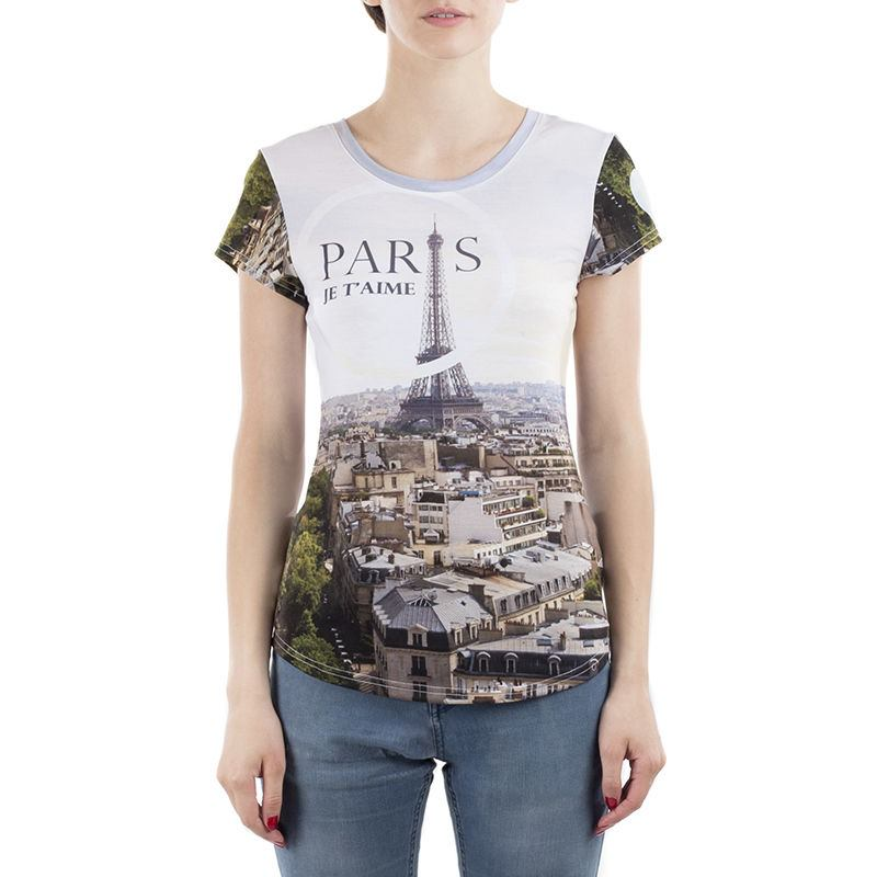 Ladies personalised cut and sew t shirt create your own tee for Make a photo t shirt
