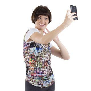 Tee shirt femme ajusté personnalisé