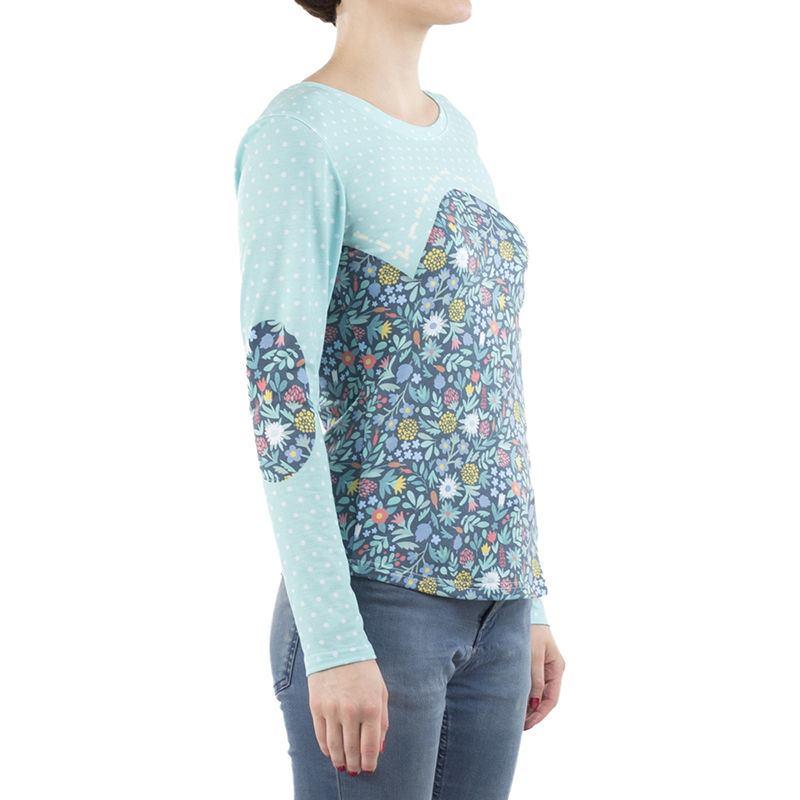 Personalized long sleeve shirts ladies custom long for Unique custom t shirts