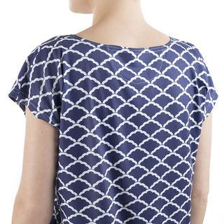 Ladies scoop neck t shirts back