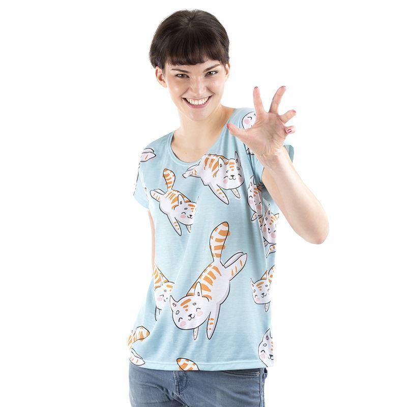 プリントシャツレディース