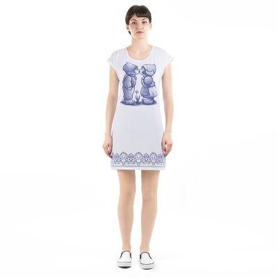 T-Shirt klänning med eget tryck