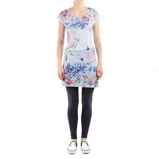 printed tee dress front