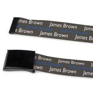 cinture personalizzate con nome