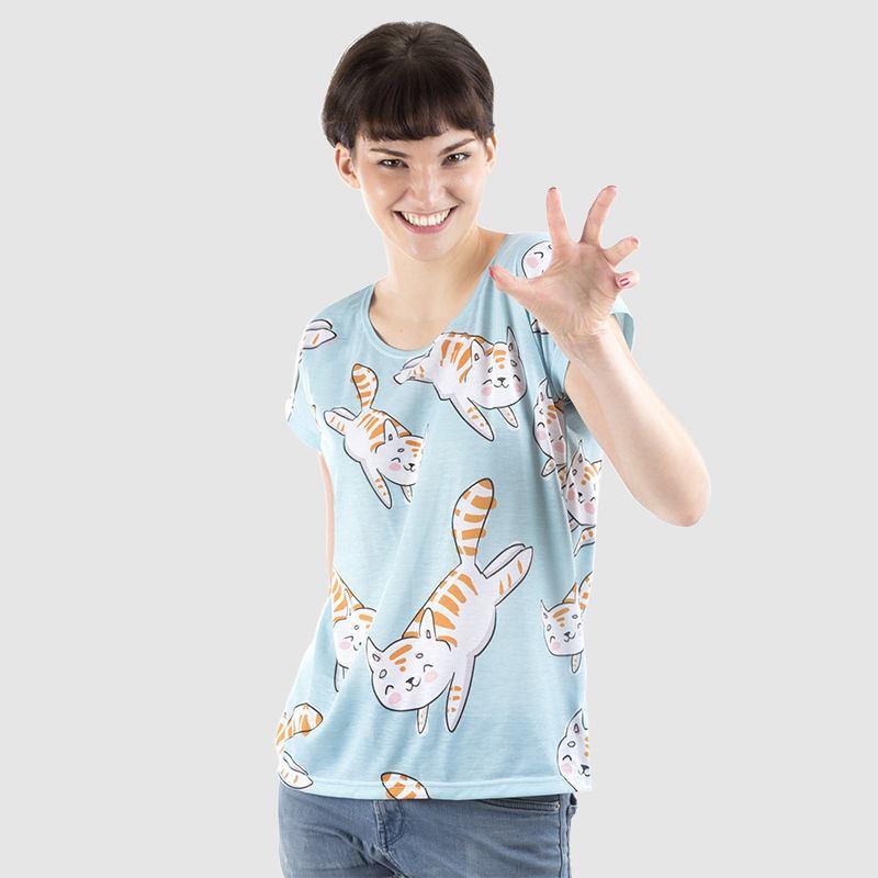 tshirt donna personalizzata