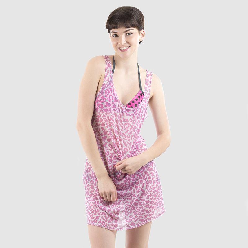 Chemise Dress Style it with holding image