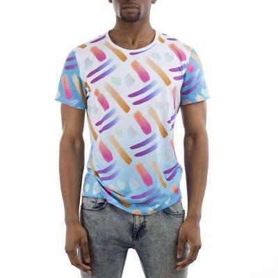 T-shirt designer coupé-cousu