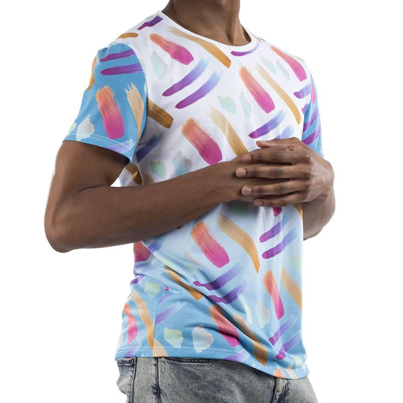 custom print cut sew t shirts cut and sew shirt printing