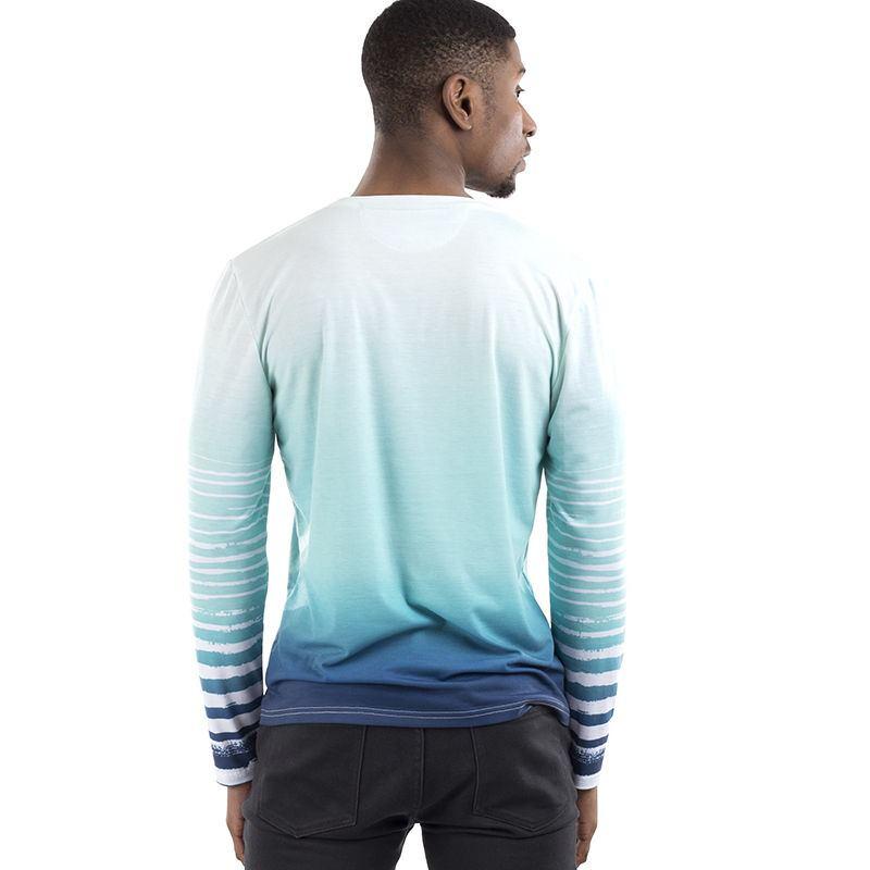 Personalised Cut Sew Long Sleeve T Shirt Custom Long