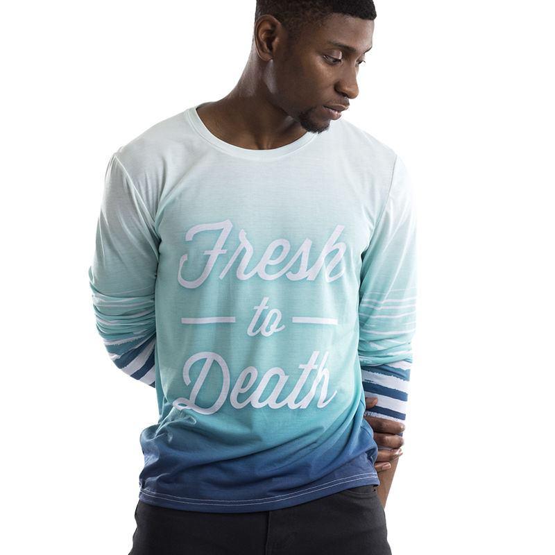 Personalised long sleeve t shirts custom long t shirts for Personalized long sleeve t shirts