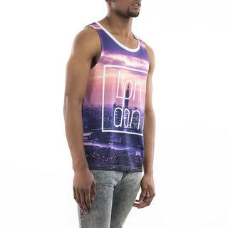 design your own vest top purple