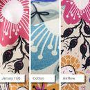 personalised vest fabric options