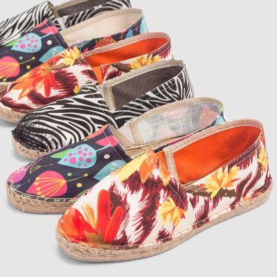Impression sur chaussure pour femme