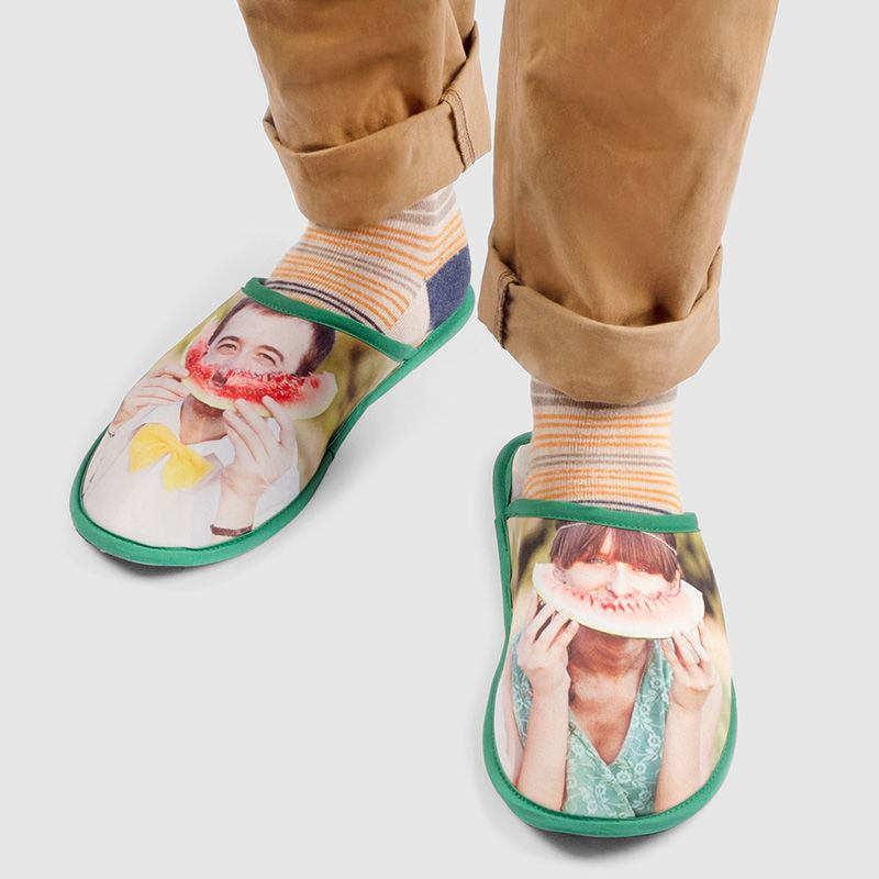 custom designed slippers style it with holding image