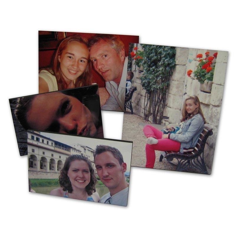 Pack Of 3 Mounted Wooden Picture Frames A5