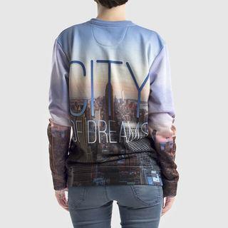 Skyline printed custom jumpers