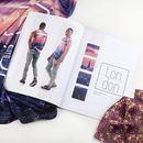 Fashion Look Book spread