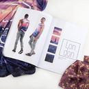 Photo printed look book printing