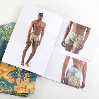 Open pages student look book