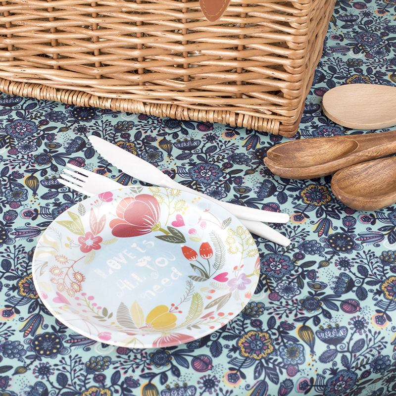 Oilcloth Tablecloth Custom Waterproof