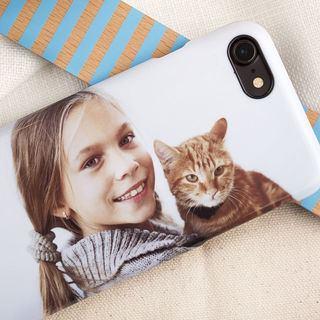 Coque personnalisée pour iphone avec photo chat
